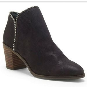 Lucky Brand Studded Details Booties Size 8.5